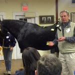 Dr. Al Andersen discussing equine ailments at Coachman's Delight 2010